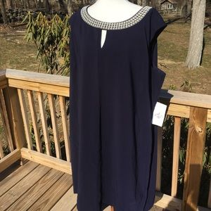 Tahari Plus Size shift dress